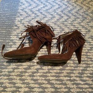 Calvin Klein Moccasin Heels
